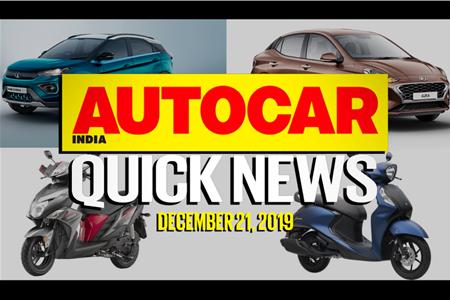 Quick News video: December 21, 2019
