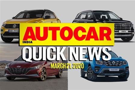 Quick News video: March 21, 2020