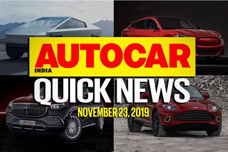 Quick News video: November 23, 2019