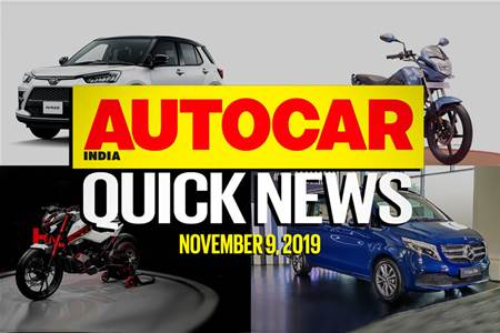 Quick News video: November 9, 2019