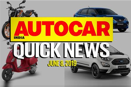 Quick News video: June 8, 2019