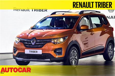 2019 Renault Triber first look video