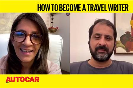 Rishad Saam Mehta talks about being a travel writer