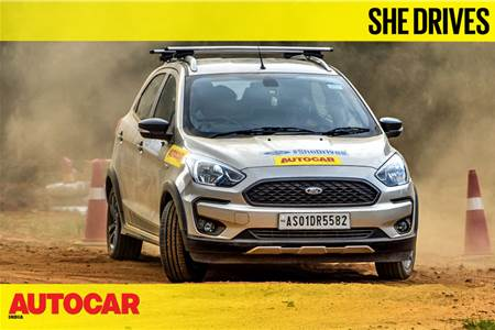 The Women Behind the Wheel - Ford #SheDrives Guwahati video