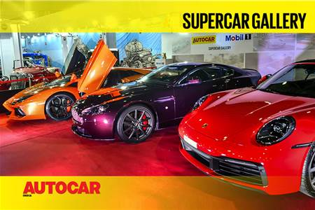 Auto Expo 2020: Supercar Gallery with Mobil 1 video