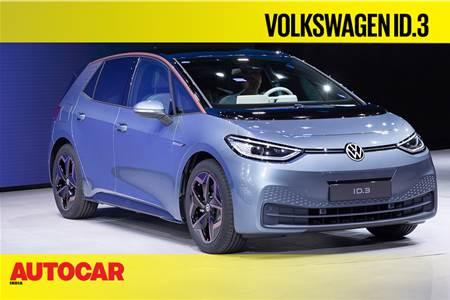 Volkswagen ID.3 first look video