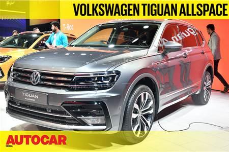 Volkswagen Tiguan AllSpace first look video