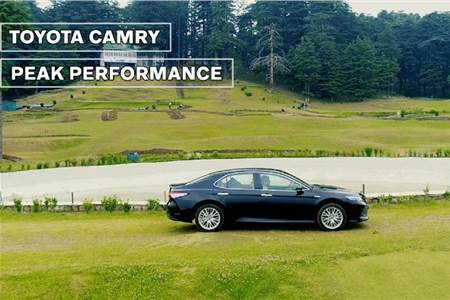 Sponsored: Toyota Camry - Peak Performance feature video