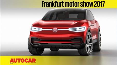 Volkswagen ID Crozz concept walkaround video