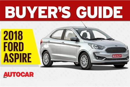 2018 Ford Aspire buyer's guide video