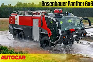 Rosenbauer Panther 6x6 fire truck video