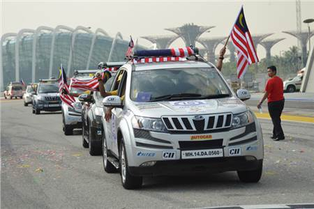 ASEAN India rally: Singaporean start