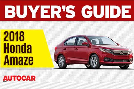 2018 Honda Amaze buyer's guide video