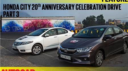 Honda City 20th Anniversary Celebration Drive video part 3