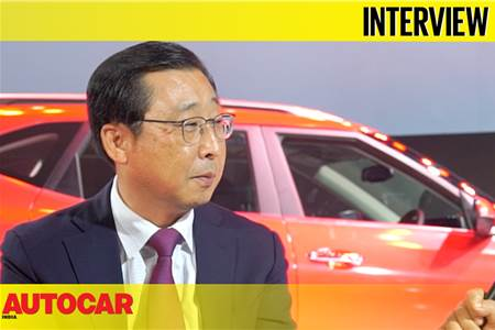 Han Woo Park, Global CEO, Kia Motors interview video
