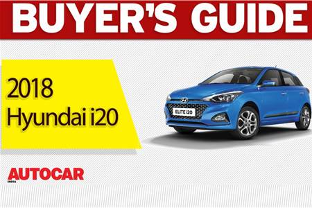 2018 Hyundai i20 facelift buyer's guide video