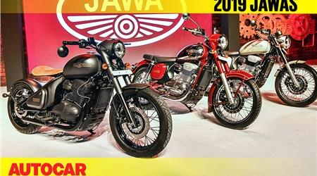 2019 Jawa motorcycles walkaround video