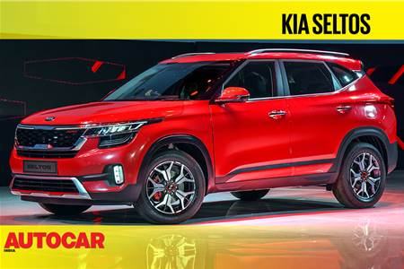 2019 Kia Seltos first look video