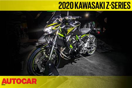 2020 Kawasaki ZH2, Z900, Z650, Z400 walkaround video