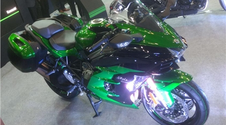 Kawasaki Ninja H2 SX first look video
