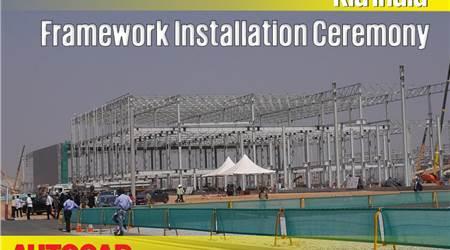 Kia Motors India Framework Installation Ceremony video