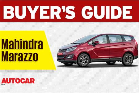 2018 Mahindra Marazzo buyer's guide video