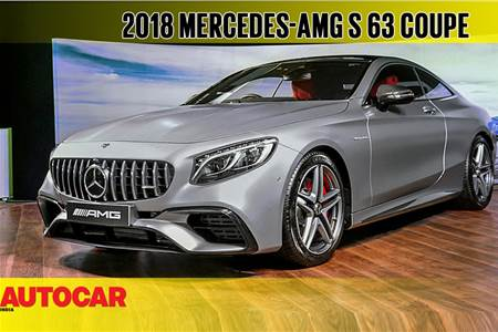 2018 Mercedes-AMG S 63 Coupe first look video