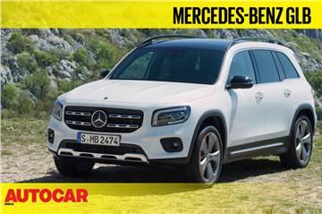 Mercedes-Benz GLB first look video