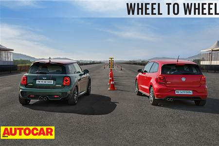 Drag Race: Mini Cooper S JCW Pro Edition vs Volkswagen GTI