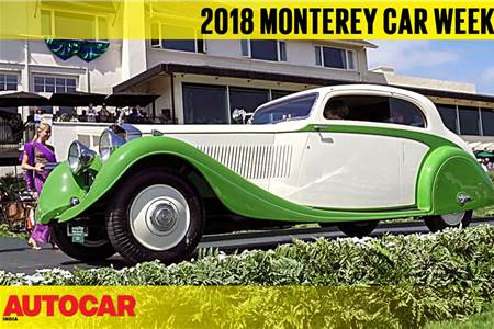 2018 Monterey Car Week & Pebble Beach Concours d'Elegance video