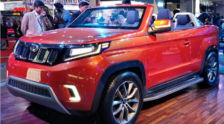 Mahindra Stinger Concept SUV and EVs first look video