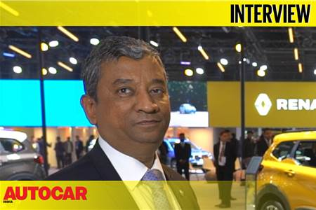 Venkatram Mamillapalle, CEO and MD, Renault India interview video
