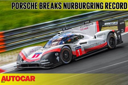 Porsche 919 Evo smashes Nurburgring lap record video