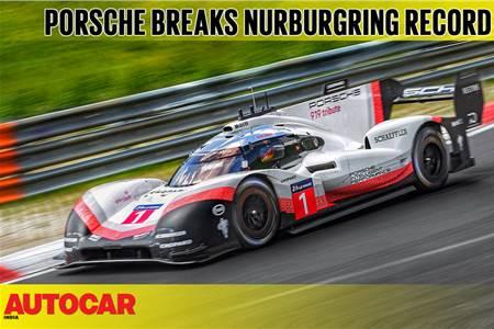 Porsche 919 Evo smashes Nurburgring lap record video