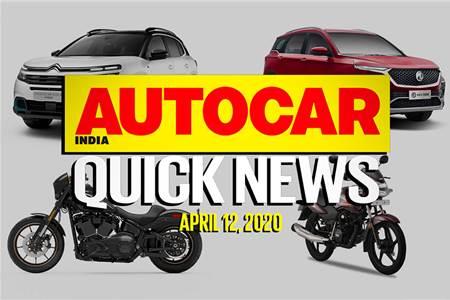 Quick News video: April 12, 2020