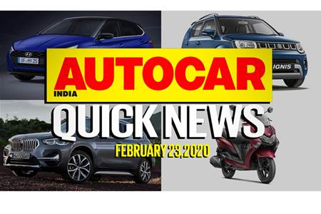 Quick News video: February 23, 2020