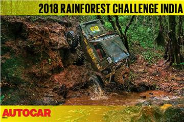2018 Rainforest Challenge India video report