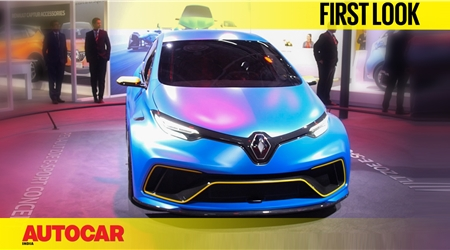 Renault Zoe e-Sport concept first look video