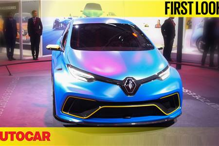 Renault Zoe e-Sport concept first look video