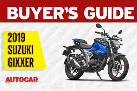 2019 Suzuki Gixxer buyer's guide video