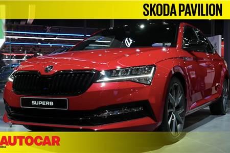 Skoda at Auto Expo 2020 walkaround video