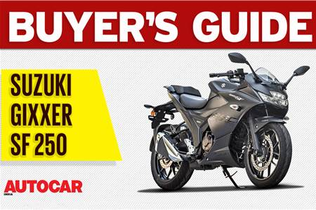 Suzuki Gixxer SF 250 buyer's guide video