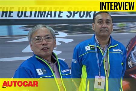 Koichiro Hirao & Devashish Handa, Suzuki Motorcycle India interview video
