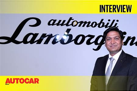 In conversation with Sharad Aggarwal, Head, Lamborghini India