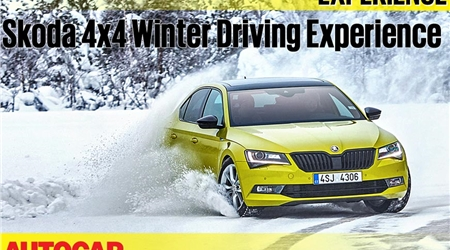 Skoda winter driving experience 2018 video