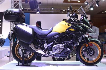 Suzuki Motorcycle at Auto Expo 2018 first look video