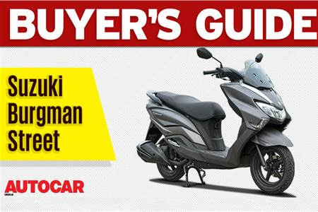 2018 Suzuki Burgman Street buyer's guide video