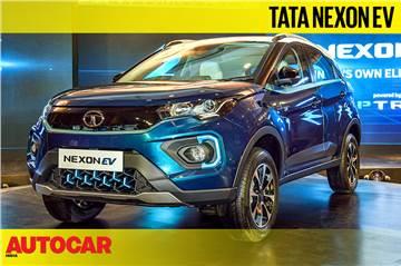 Tata Nexon EV first look video