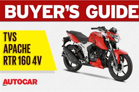2018 TVS Apache RTR 160 4V buyer's guide video