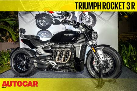 2020 Triumph Rocket 3 R first look video